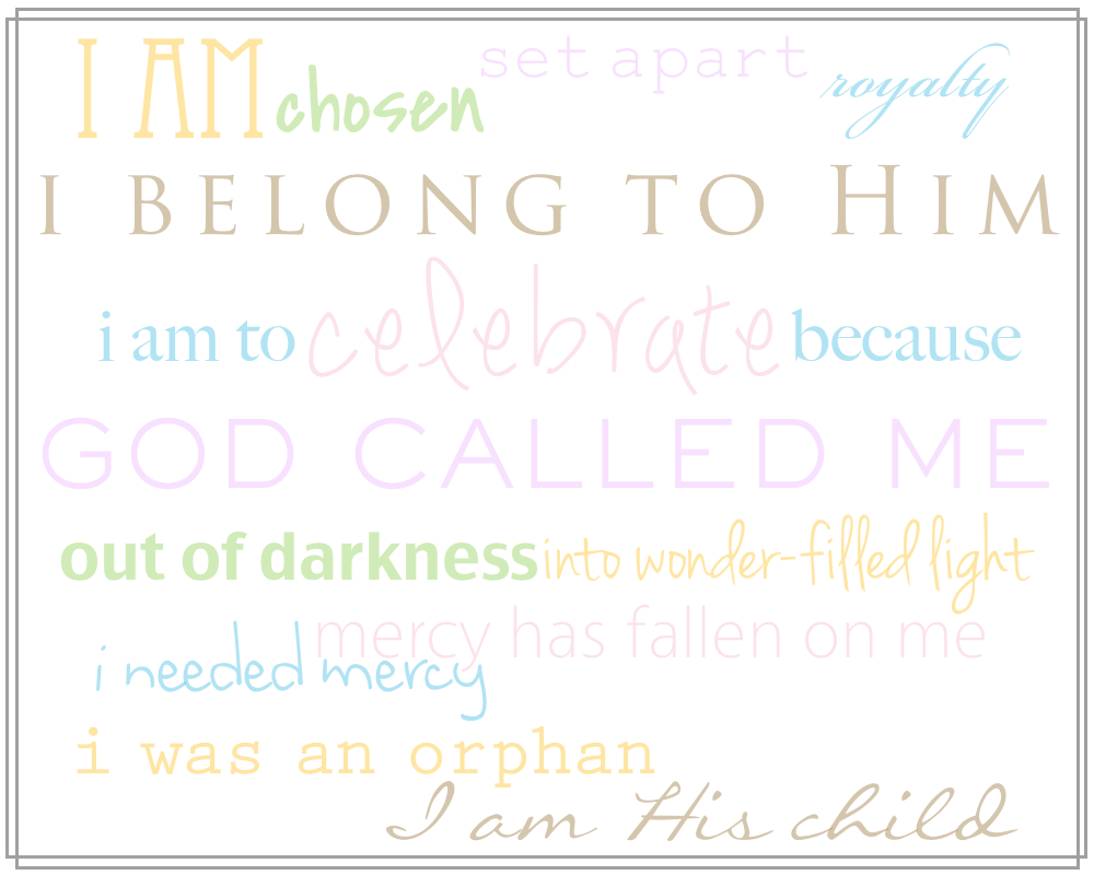 picture about Who I Am in Christ Printable identify Ideny inside of Christ