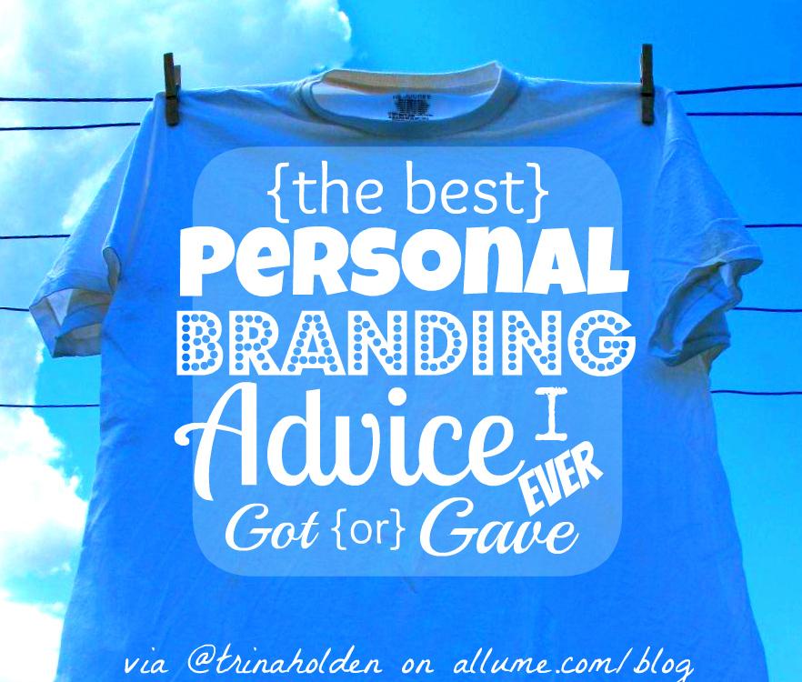 personal branding advice