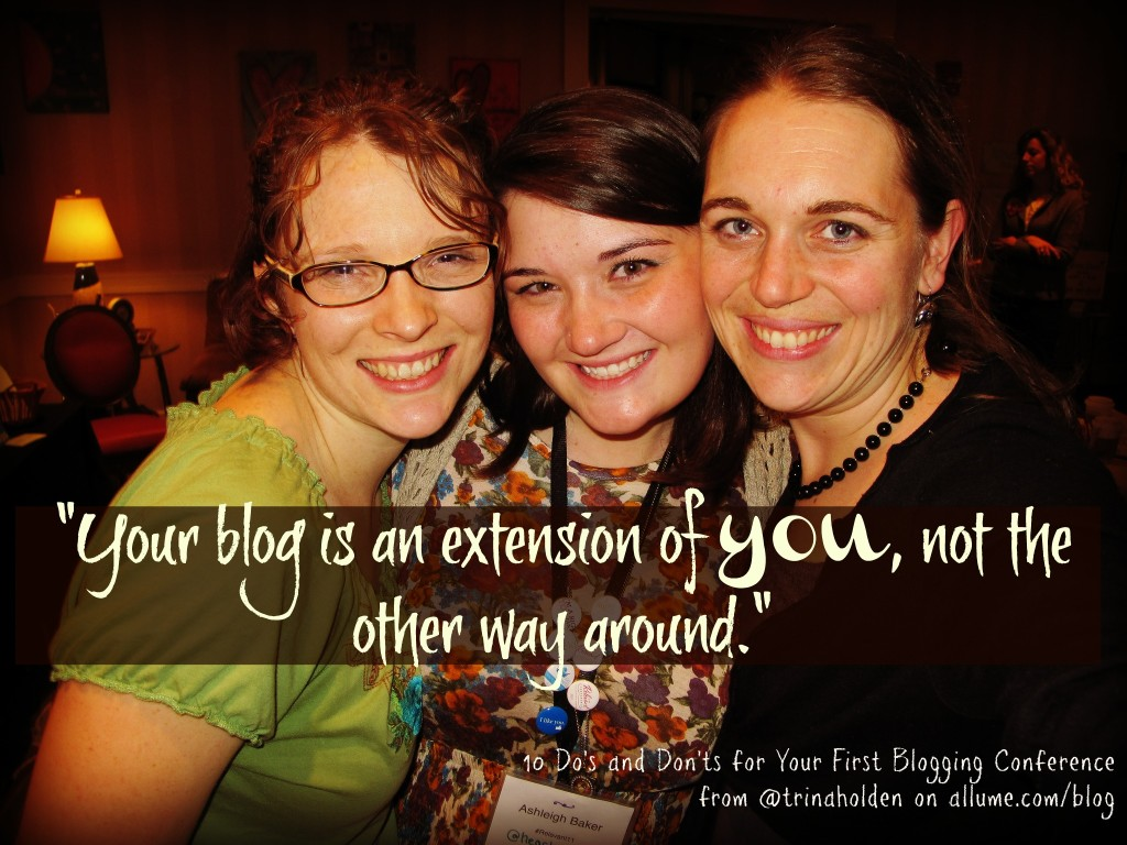 your blog is an extension of you...