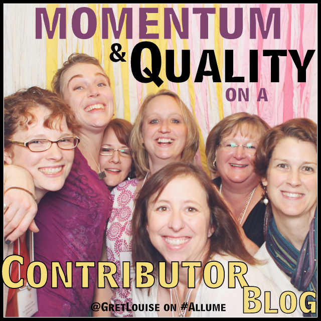 Momentum & Quality on a Contributor Blog