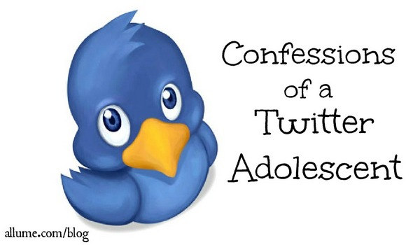 Confessions of a Twitter Adolescent @allume