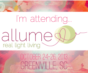 Come with me to Allume in October