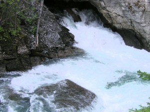 River Emerging from Underground