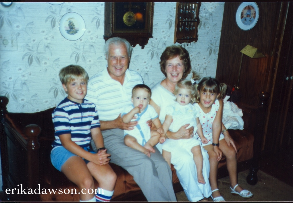Dr. Sweeting and family 1986