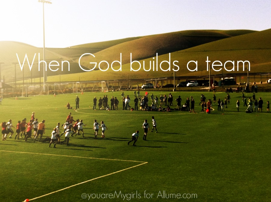 When God builds a team