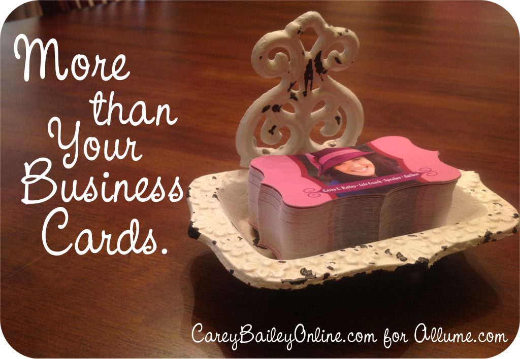 more than your business card