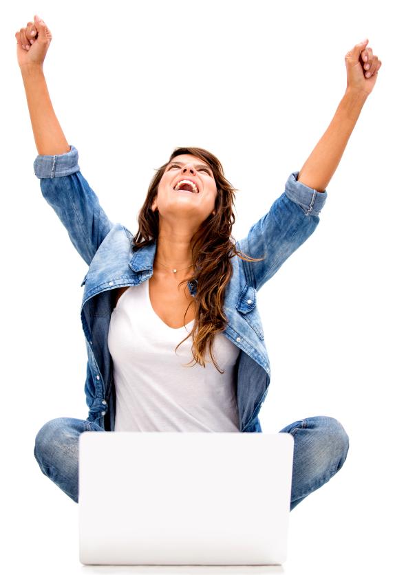 Successful woman online