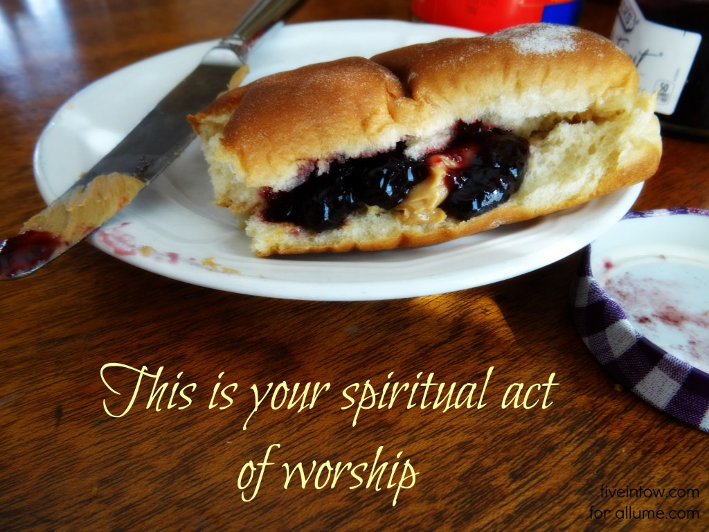 Spiritual act of worship