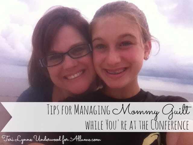tips for dealing with mommy guilt || teri lynne underwood for allume.com
