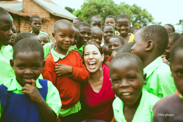 Logan in Uganda with Sole Hope