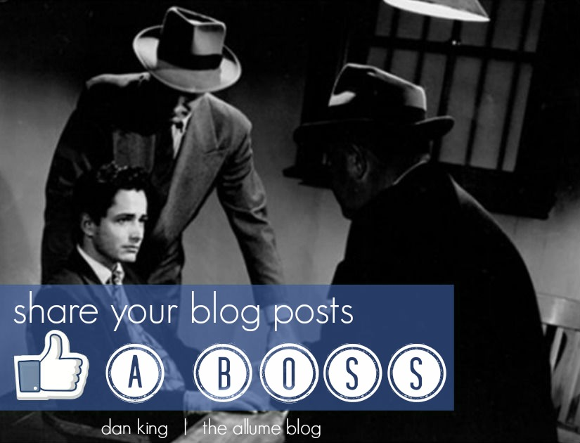 social media, blog posts, like a boss, share blog posts