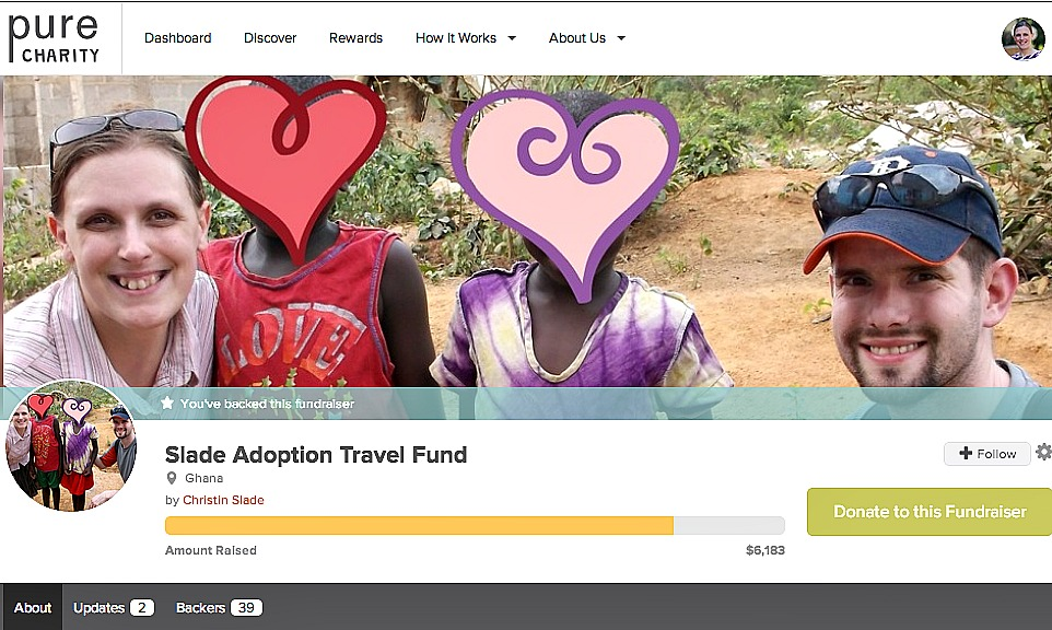 Slade Adoption Travel