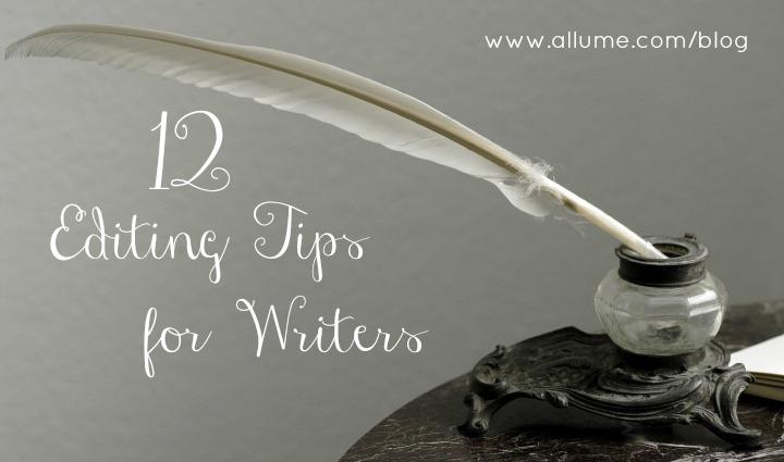 Editing Tips