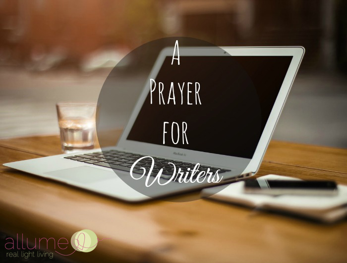 writers prayer