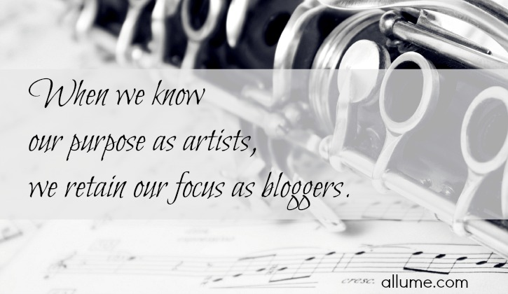 Our Purpose As Artists