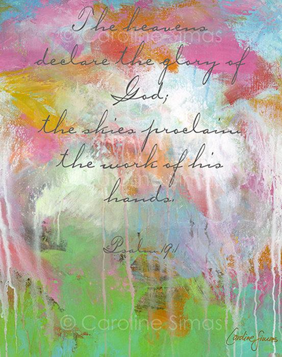 declare the heavens