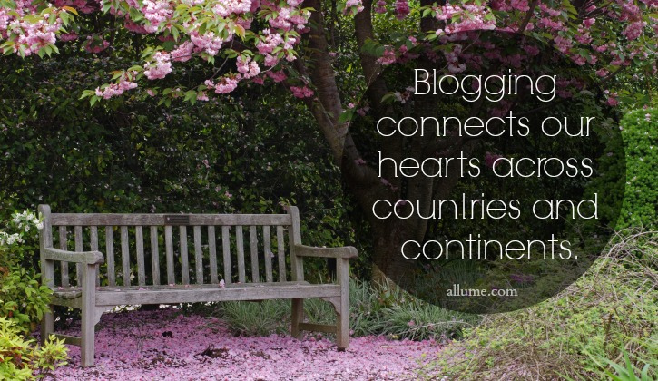 Blogging Connects Us